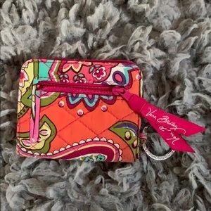 Vera Bradley ID/Wallet Mini Key Chain